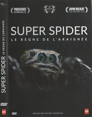 """DVD """"super spider, le règne de l'araignée"""" de Vincent Amouroux, en collaboration avec Christine Rollard"""